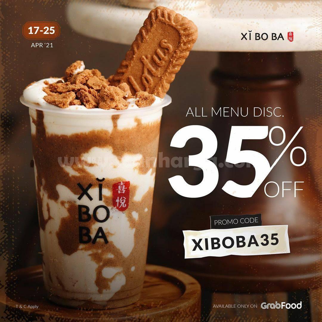 Promo XIBOBA Terbaru - DISKON 35% untuk semua Menu