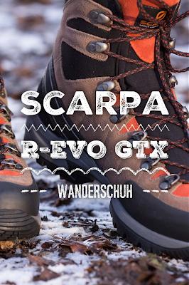 Gear of the Week #GOTW KW 03 | Scarpa R-EVO GTX Wanderschuhe | Vibram Fagus Lite Sohle | Scarpa Sock-Fit DV | Goretex