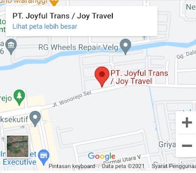 Joy Travel Surabaya Malang, Pilihan Mantap Menemani Perjalanan