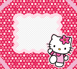 Gambar Background PowerPoint Hello Kitty Lucu