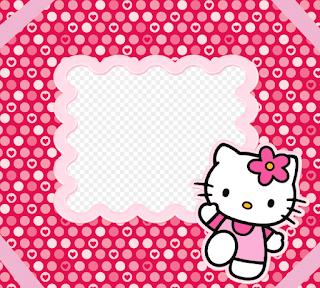 Gambar Background PowerPoint Hello Kitty Lucu