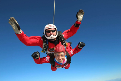 Cats Protection fundraising skydive