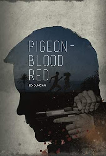 Pigeon-Blood Red - a pulse pounding crime novel free book promotion Ed Duncan