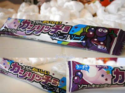 Coris Grape & Soda Soft Candy