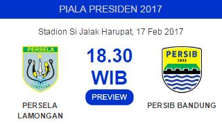 Prediksi Persib Bandung vs Persela Lamongan 17 Februari 2017