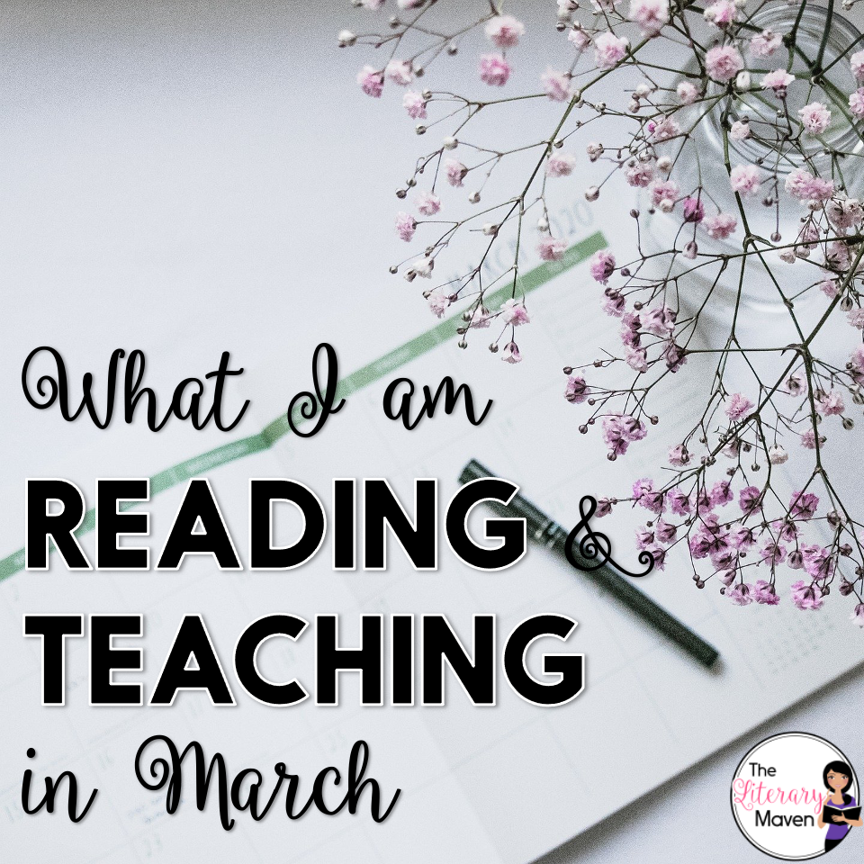 February seemed like one long snow day and lesson plans got shifted around quite a bit,  but we finished literature circles and I read 10 more books.