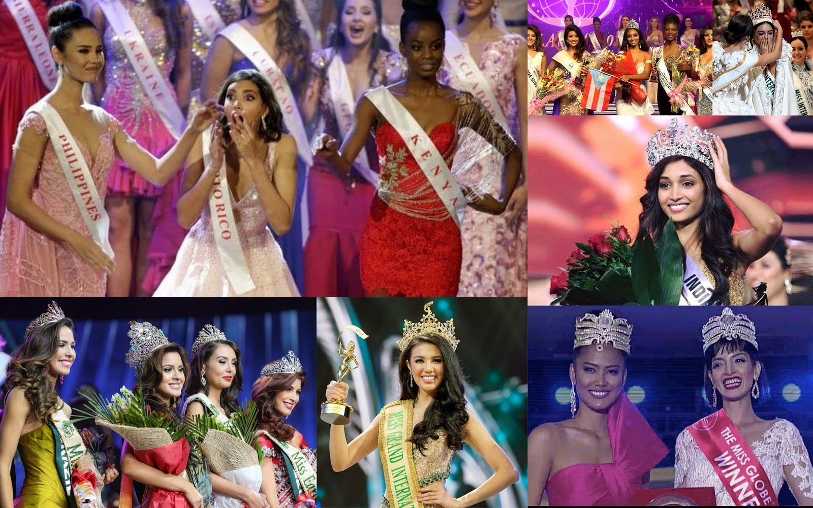 interesting reviews of 7 selected international beauty pageants in 2016 international beauty pageant reviews