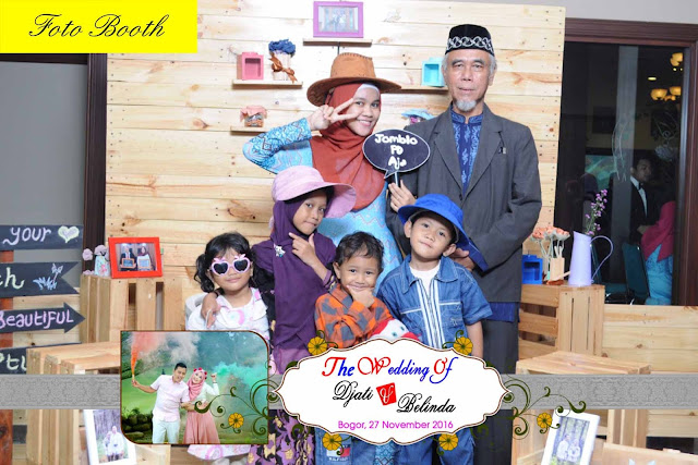 foto booth wedding, foto booth event, foto booth ultah