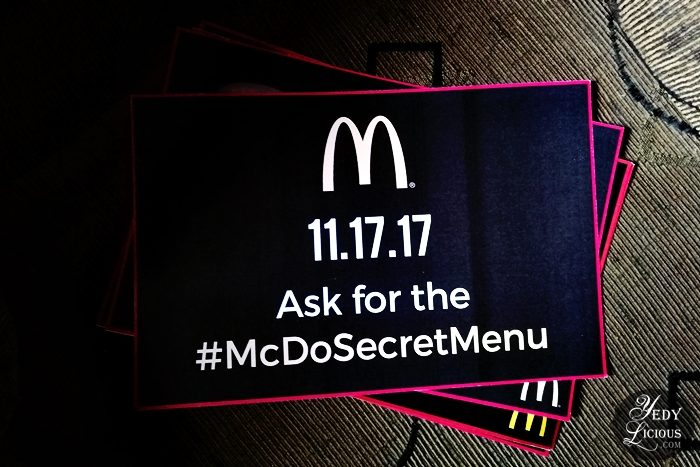 McDo Secret Menu Philippines, What's on McDonald's Secret Menu McDoSecretMenu, McDonald's Secret Menu Blog Review, McDonald's Philippines Secret Menu Online McDelivery Branches Contact No YedyLicious Manila Food Blog