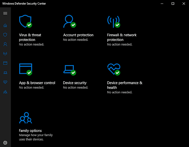 Use Windows Defender