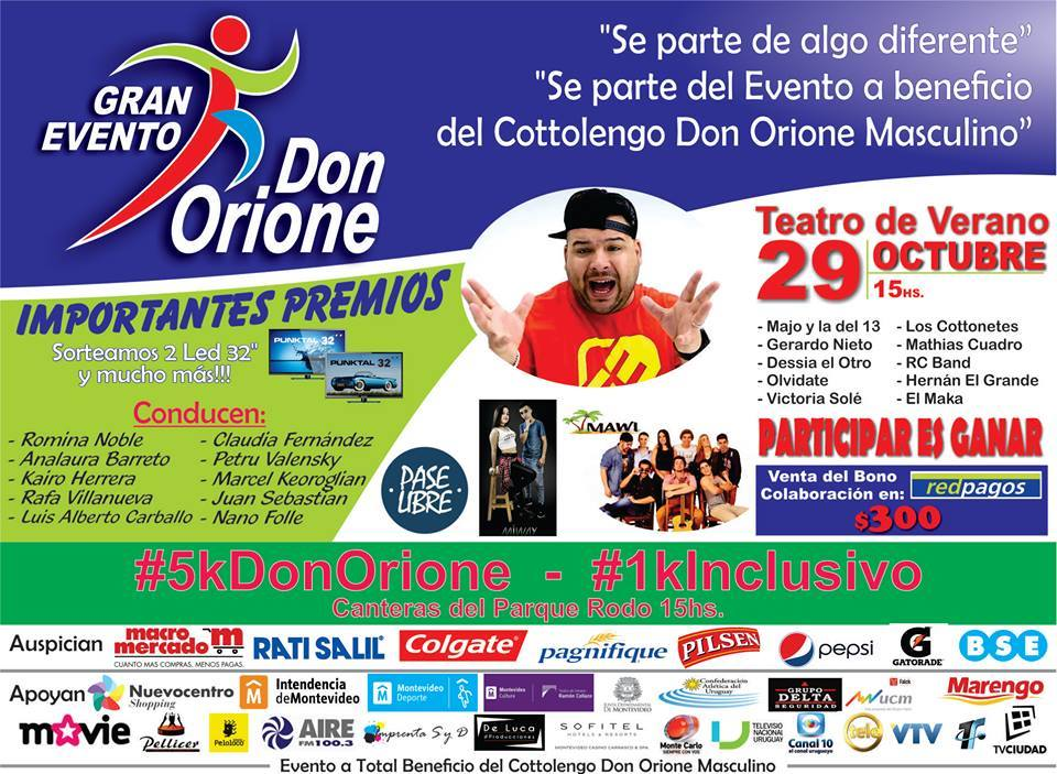 Gran Evento Don Orione .29/10/2016