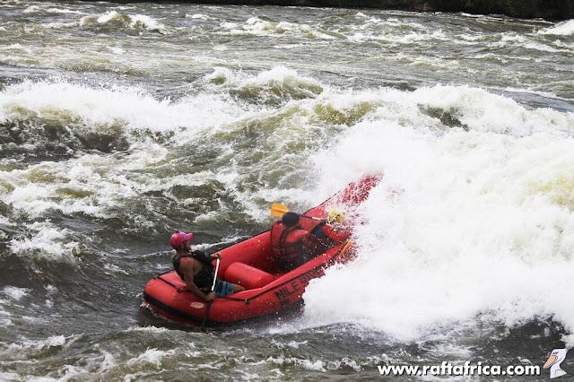 Rapid no. 8 – Nile Special; the White Nile, Uganda