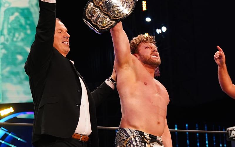 """Possível grande """"spoiler"""" sobre a participação de Kenny Omega no próximo IMPACT Wrestling"""