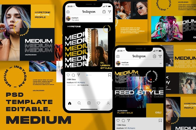 Medium - Instagram Template[Photoshop][5086223]