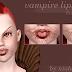 [ts4 conversion] Vampire Lips n3-4 by niobe cremisi