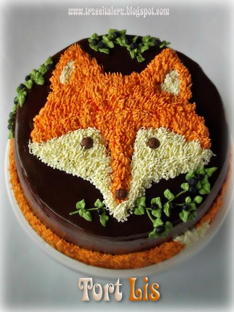Trzeci Talerz - podkarpacki blog kulinarny; fox cake