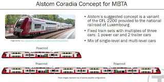 T staff discussed procurement of Electric Multiple Units for @MBTA_CR
