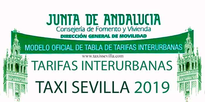 taxi-tarifas interurbanas
