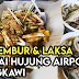 Laksa Ikan Sekoq, Passembur dan Cendol Di Pantai Hujung Airport Pulau Langkawi Kedah