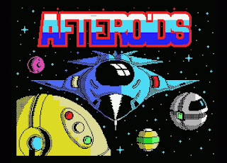 Videojuego Afteroids - Made in Spain
