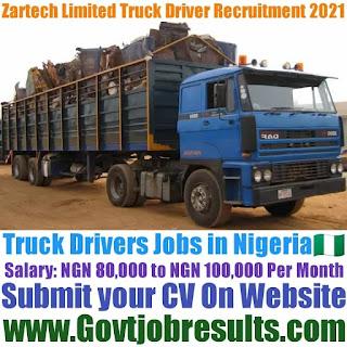 Zartech Limited Truck Driver Recruitment 2021-22