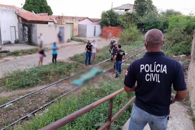 Homem morre após ser atropelado por trem em Brumado