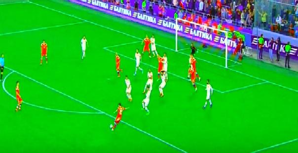 روسيا تتعادل مع تركيا بهدف لمثله فى مباراة ودية