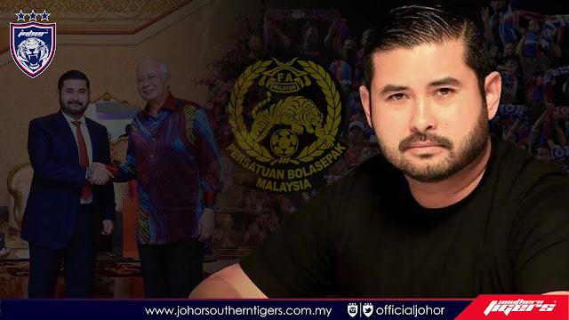 Tunku Ismail Sultan Ibrahim  calon paling tepat untuk jawatan Presiden FAM