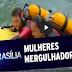SBT BRASÍLIA - CBMDF AGORA TEM DUAS MULHERES NA EQUIPE DE MERGULHO