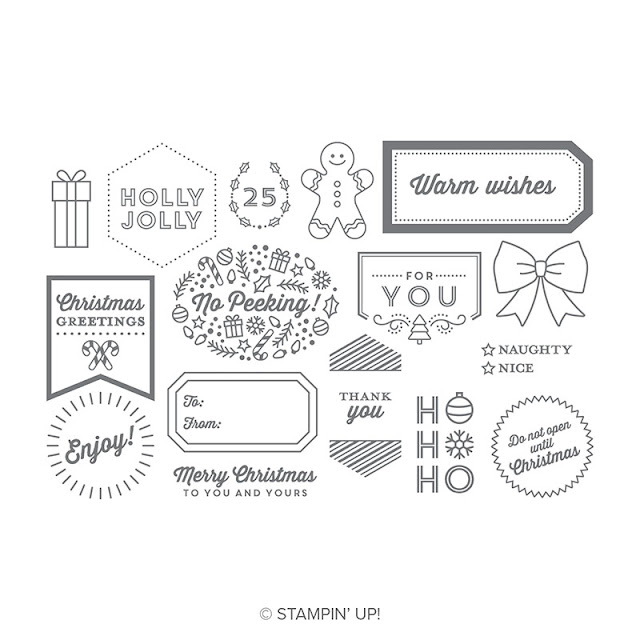 Tags and tidings by Stampin' Up!