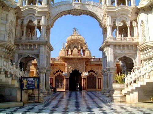Krishna Balaram Mandir in Mathura, Uttar Pradesh ~ Tourist Places in India