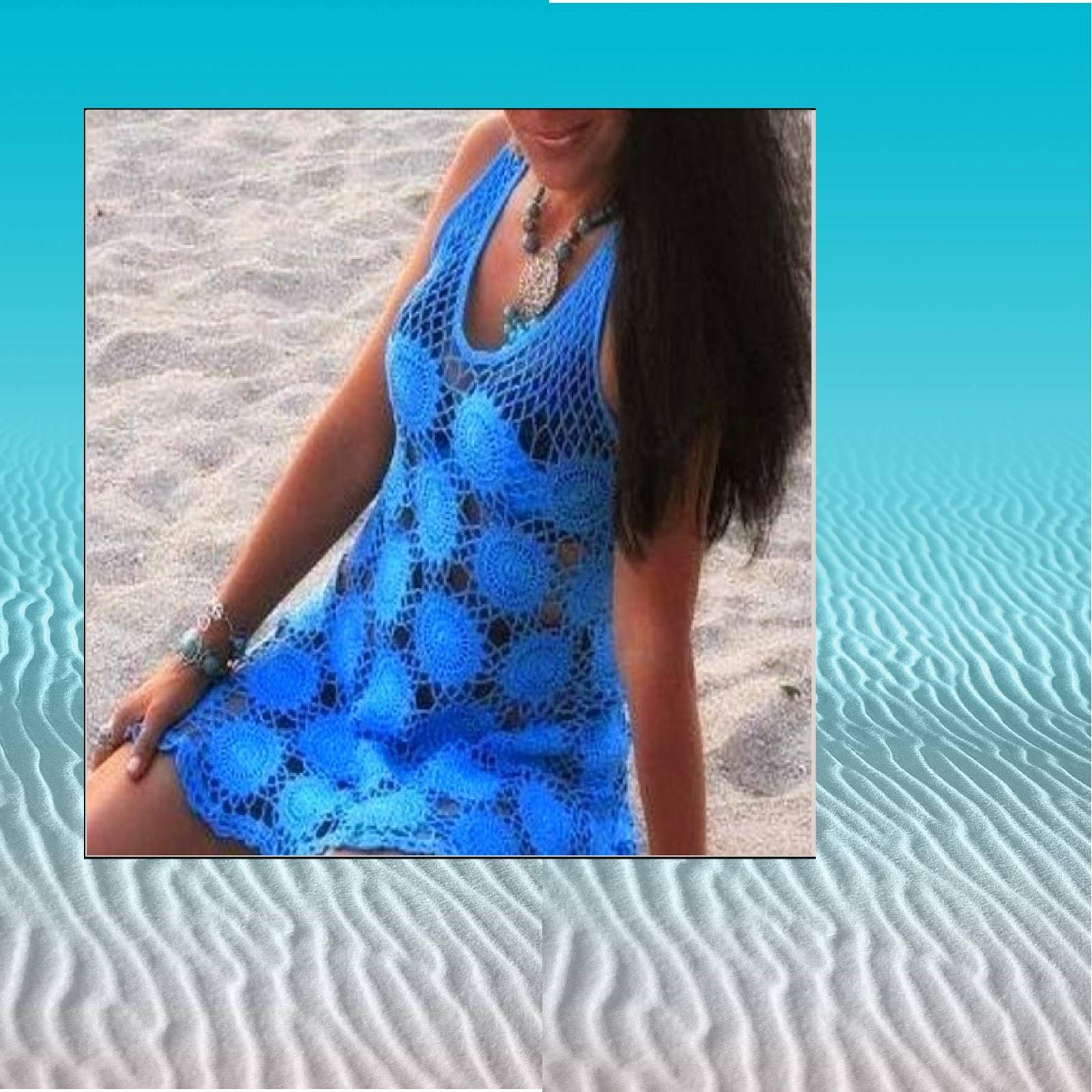 Nadia Easy Patterns: Crochet dress pattern for women Plus ...