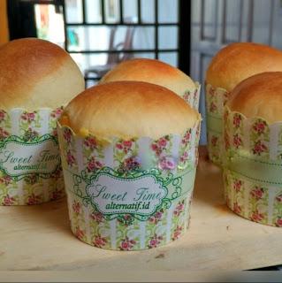 Resep Roti Vla Jagung Manis Panggang