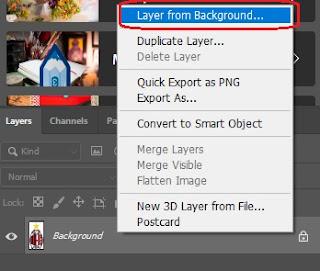 Cara Menghilangkan Background Foto Menggunakan Adobe Photoshop 4 - Mazzajie