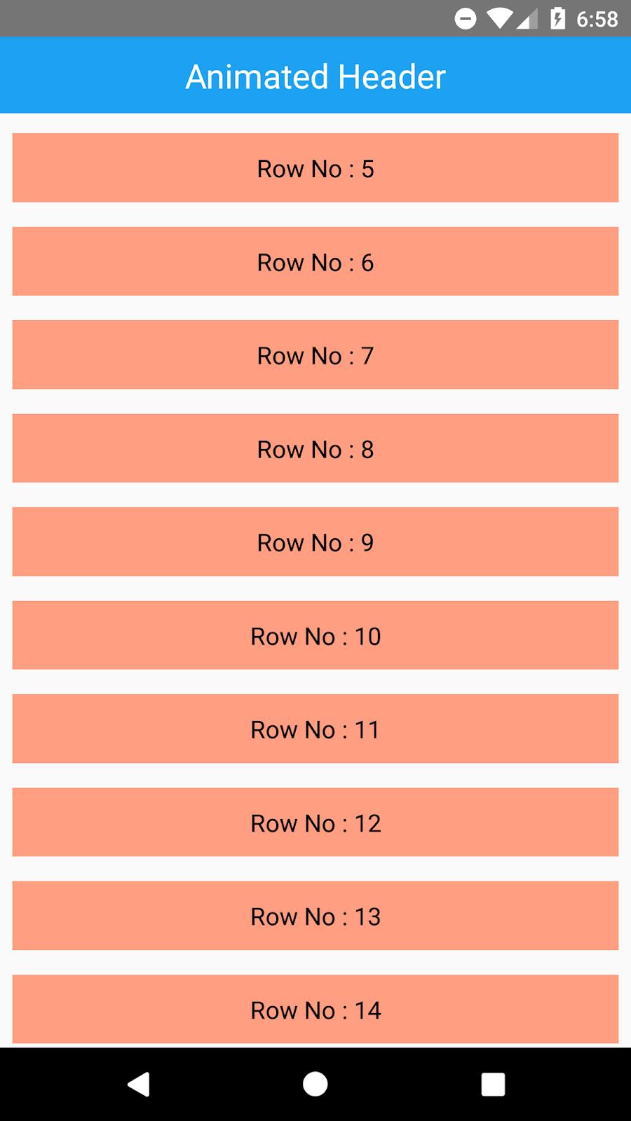 React Native ScrollView Animated Header Example | SKPTRICKS