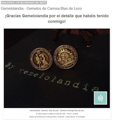 Lo + leído en el troblogdita - febrero 2016 - ÁlvaroGP - Álvaro García - Gemelolandia - Gemelos Blas de Lezo - Gemelos - Gemelos de camisa