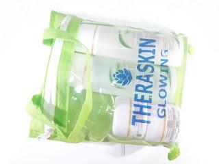 Paket Theraskin Glowing Cream Pemutih Wajah Original BPOM
