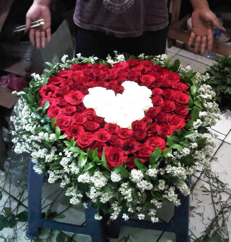 Bunga Mawar Love (WS-092)
