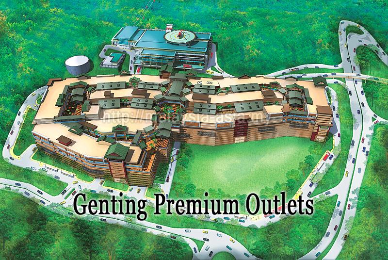 burberry premium outlet online 0asv  Genting Premium Outlets, artist impression Image source: Resorts World  Genting