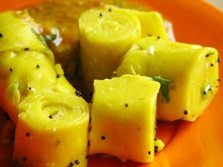 Gujarati Cuisine - khandvi