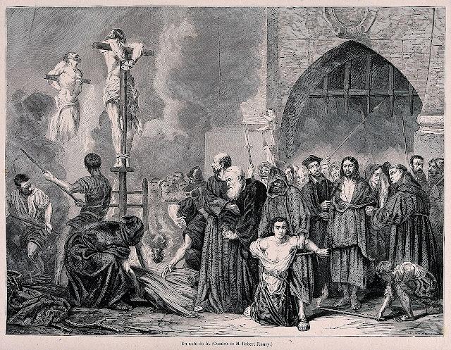 Auto de fe Inquisició hispànica