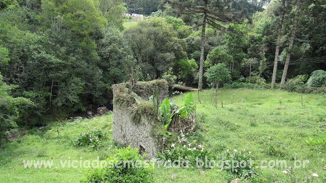 Ruínas do antigo moinho, Casa De Bona, Farroupilha, Serra Gaúcha