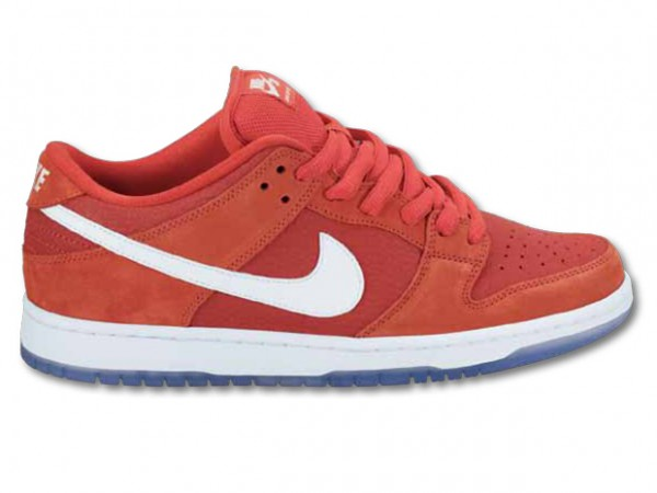 best website e561d 8213f Nike SB Dunk Low – Red  White – Ice
