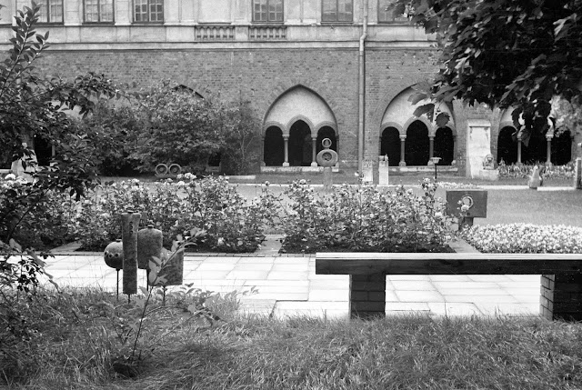 1970 год. Рига. Внутренний двор Домского собора