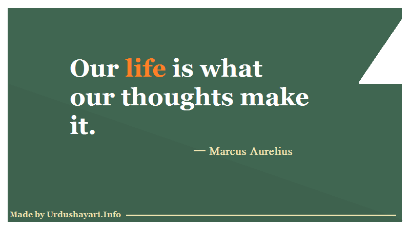 Thoughts impact on life, Top Sayings about life, thoughts on Images