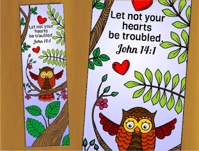 let not your hearts be troubled