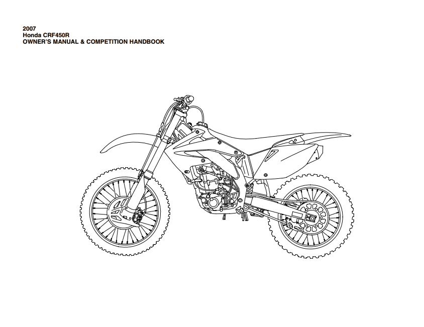 2003 crf450r wiring diagram