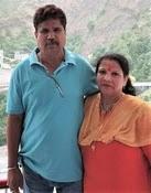 karn sharma parents