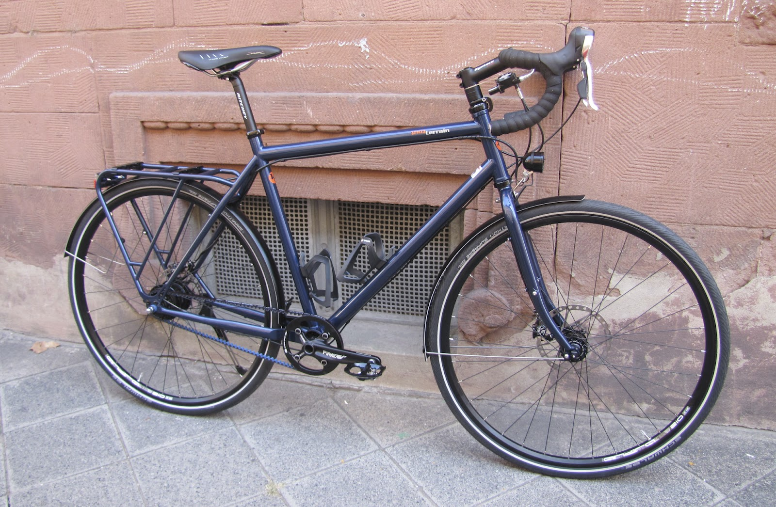 der radladen fahrr der in mannheim tout terrain metropolitan gt custom bike. Black Bedroom Furniture Sets. Home Design Ideas