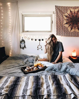 decor dorm room minimalist hanging mandalas